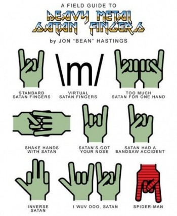 Heavy Metal Fingers