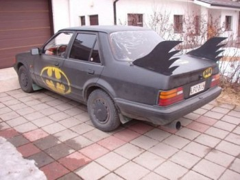 Batmobile Car Mod