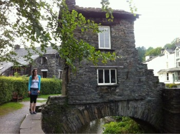 Bridge House in Ambleside, built over a river 300 years ago