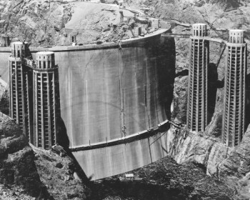 Hoover Dam Rear-View
