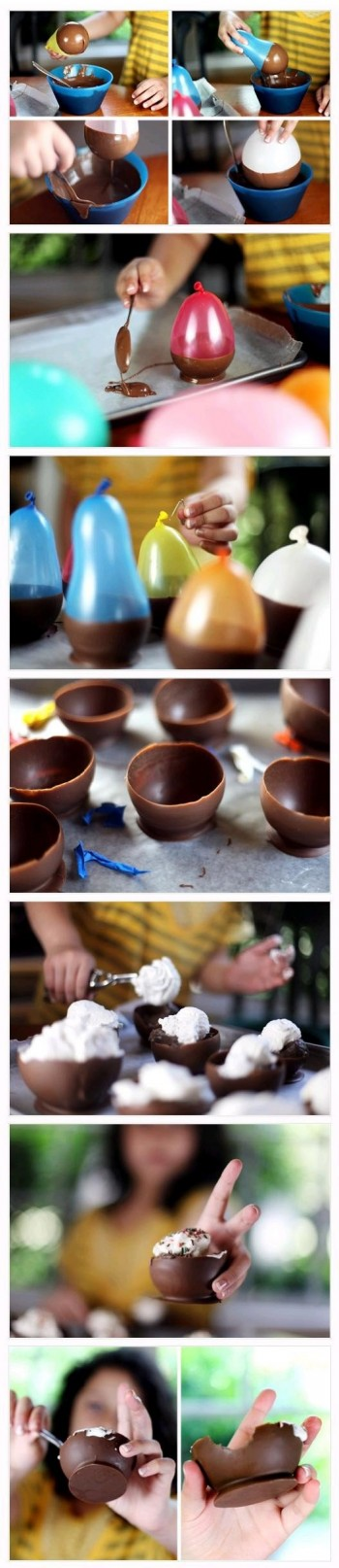 Chocolate Icecream Cups