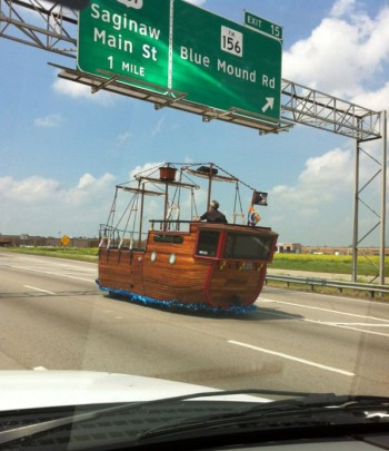Ship On The Highway