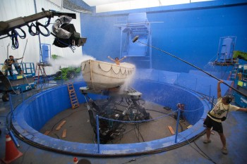 Life of Pi Filming