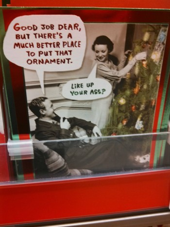 Harsh Christmas Card