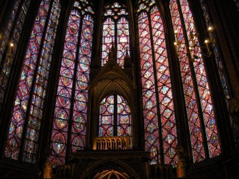 The Stain Glass of Sainte-Chapelle