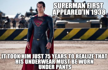 Better Late Than Never Superman