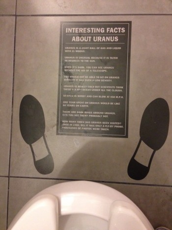 Bathroom Facts About Uranus