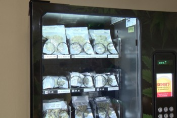 Marijuana vending machine comes to Vancouver