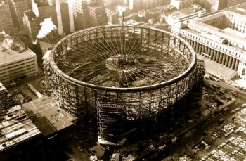 Construction of Madison Square Garden