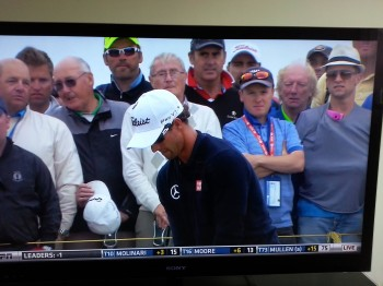No cameras allowed at The British Open