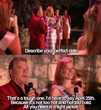 Your perfect date