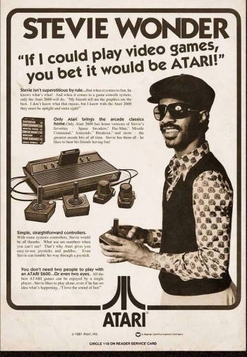 Stevie Wonder Chooses Atari