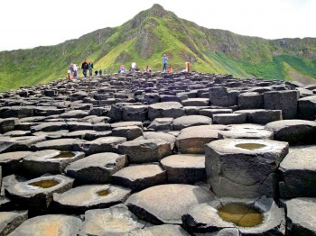 Stones at Giant's Causeway