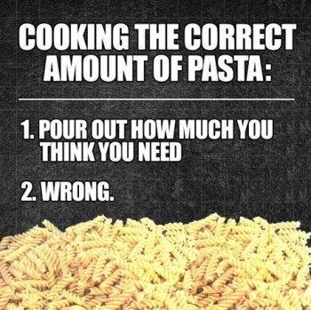 How much pasta do you need?