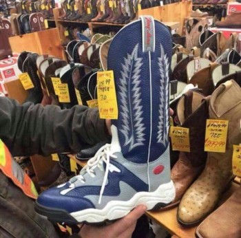 Running Shoes For Cowboys