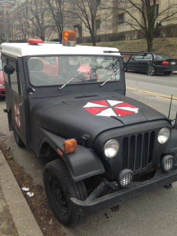 Saw this Jeep outside of the hospital