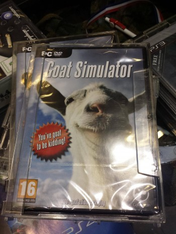 Goat Simulator: now available in stores