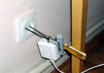 Home-made power adapter