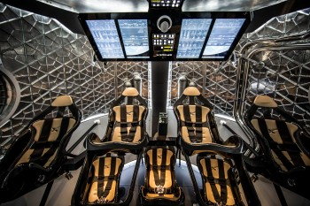 SpaceX's dragon V2 Interior