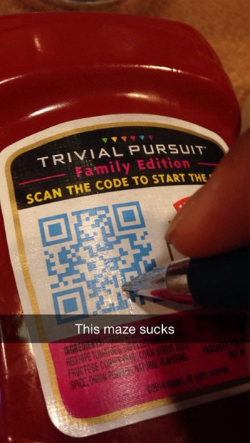 This maze sucks