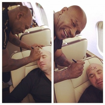 Mike Tyson and Dana White