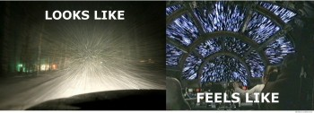 Driving when it snows