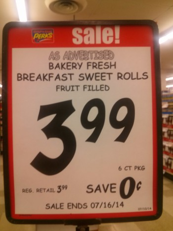 Great savings!